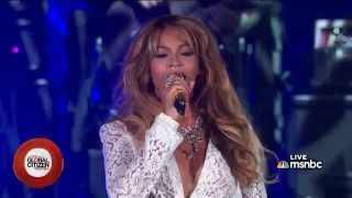 Repeat youtube video Jay Z & Beyonce - Forever Young (Global Citizen Festival 2014)