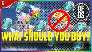 Do's & Don'ts of the Trust Coin Shop What should you buy? Final Fantasy Brave Exvius Global FFBE GL