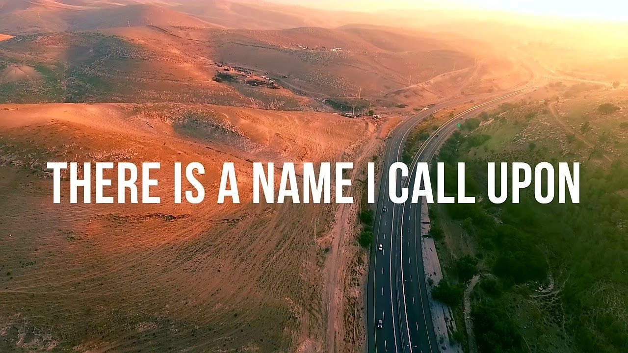 Joshua Aaron - Salvation is Your Name (feat. Mike Weaver) Jerusalem Hills Lyric Video