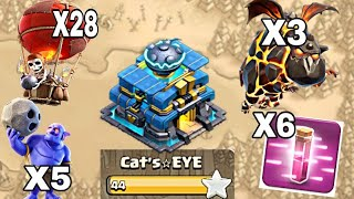 Best Th12 War Attack Strategy 2018 | Air War Army - 3 Star War Attacks Strategy | Clash of Clans