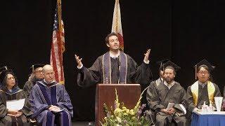Feras Abushaar speaks at UC Berkeley IAS graduation thumbnail