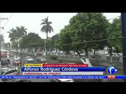 Las Noticias - Veracruz pide evitar viajes por carreteras debido a deslaves