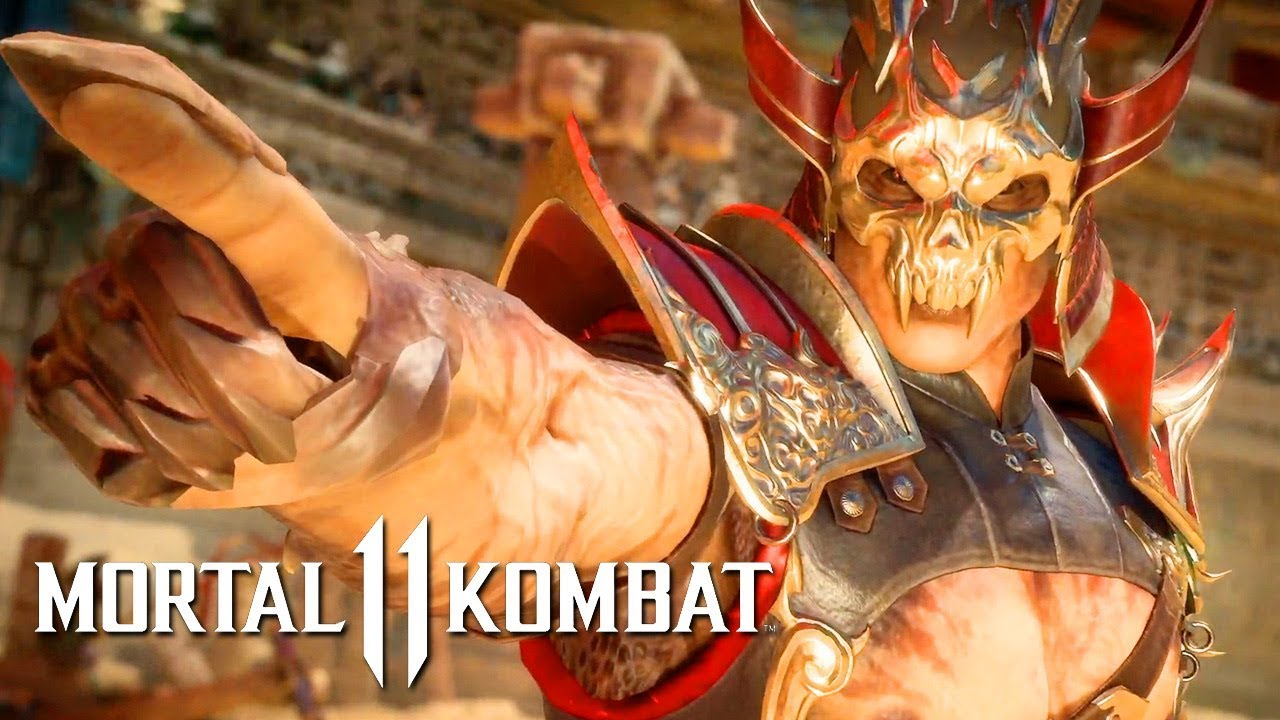 Shao Kahn Is Finally Shown In Action To Hype Up Mortal Kombat 11