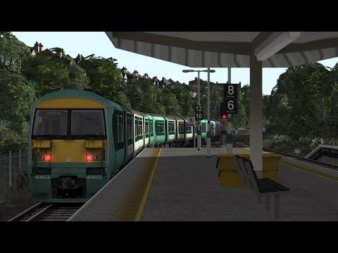 Train Simulator 2016 | West Croydon - London Bridge (Class 456)