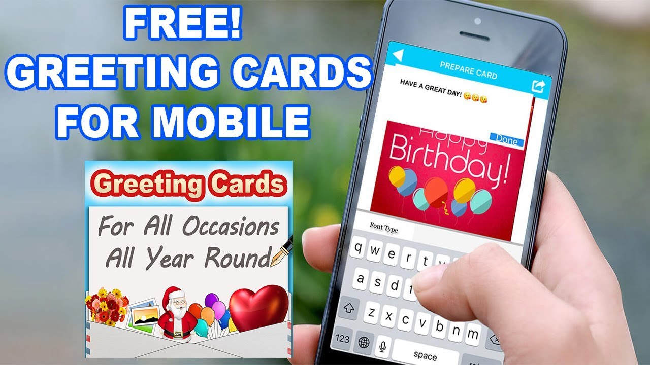 How to create greeting cards for free on mobile iphone ipad how to create greeting cards for free on mobile iphone ipad ipad mini m4hsunfo