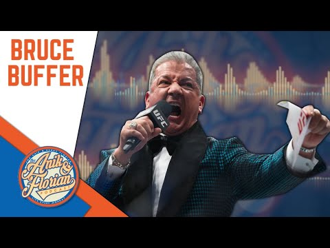 Bruce Buffer talks about the Conor vs Khabib melee | THE ANIK AND FLORIAN PODCAST