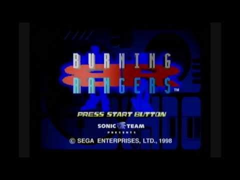 Burning Rangers (Sega Saturn) - Title Screen + Opening