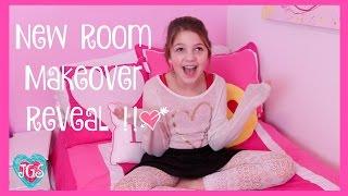 New Room Makeover!! | Annie's New Room Tour 2016 | JazzyGirlStuff