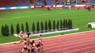 Zlatá tretra 2015. 100 m (2.běh)