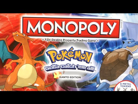 Monopoly: Pokemon Kanto Edition from USAopoly