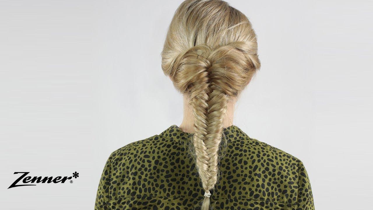 Vissengraatvlecht | Hair Tutorial | Zenner voor Haar