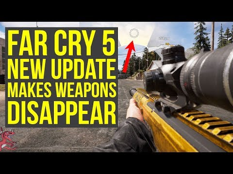 Far Cry 5 New Update Makes Weapons & Other Items DISAPPEAR + Far Cry 5 DLC Challenges Are Up!