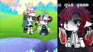 #Truyện:Chúng tôi yêu nhau qua game Ep 2 Gacha life VN By:Jinn_Na
