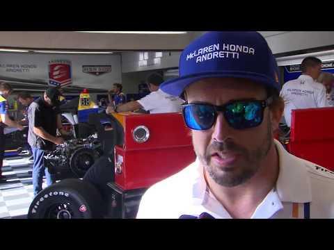 Fernando Alonso - Fast Friday - Indy 500