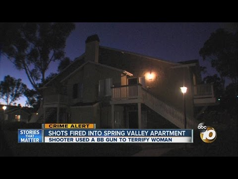 BB gun shots fired into Spring Valley apartment