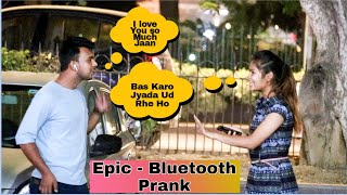 Epic - Bluetooth Prank On Cute Girls | AKY FILMS |