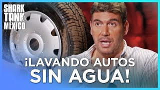 ¡Un producto para lavar autos sin agua! | Shark Tank México