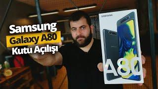 Dönebilen Kameralı Samsung Galaxy A80 kutusundan çıkıyor!