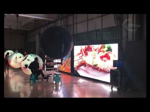 YUCHIP P5 SMD Outdoor HD Led Display and Led Video Ball Display