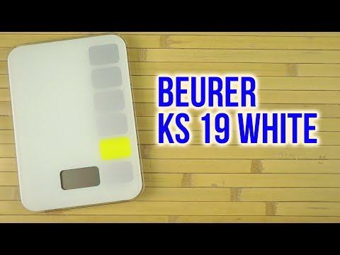 Распаковка BEURER KS 19 White