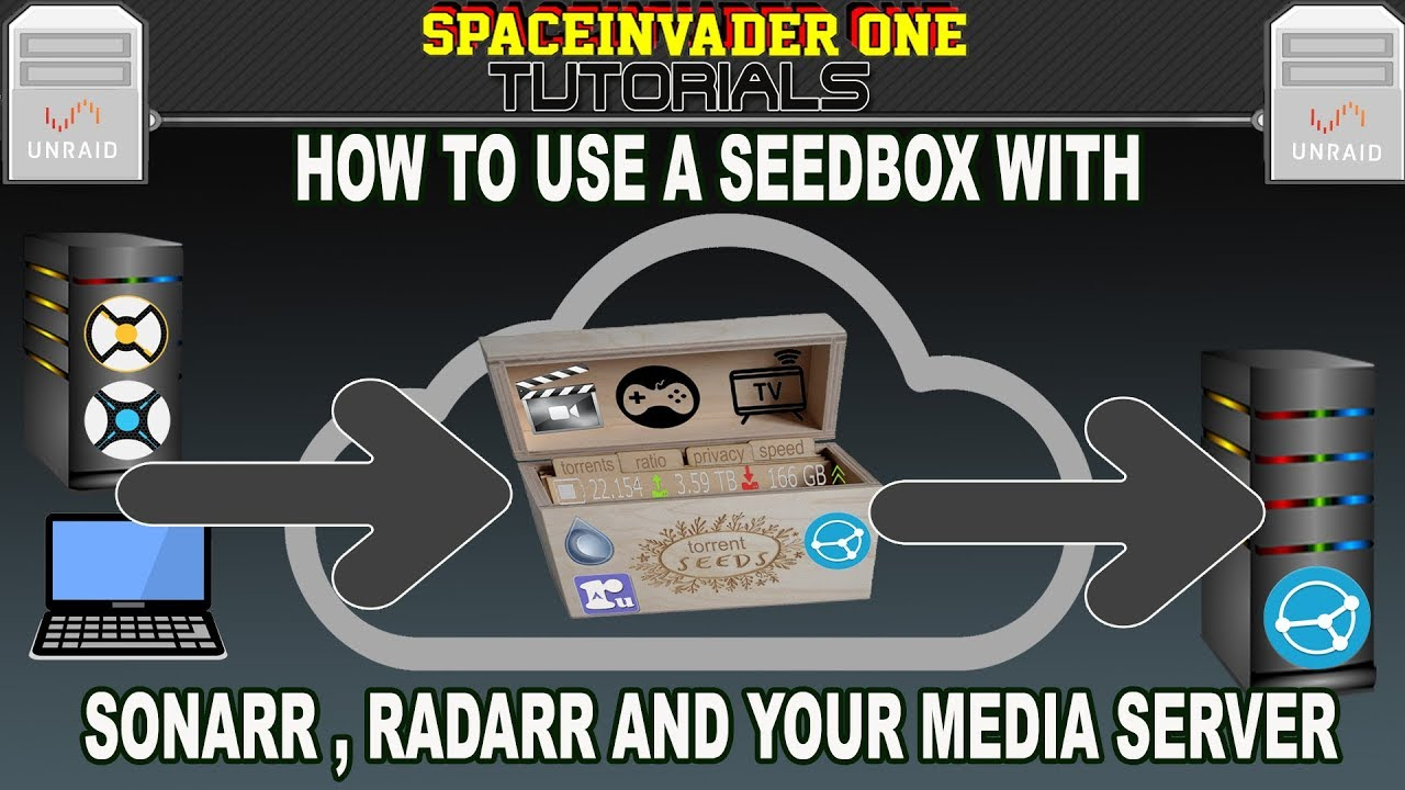 How to use a Seedbox with Sonarr Radarr and your Media Server