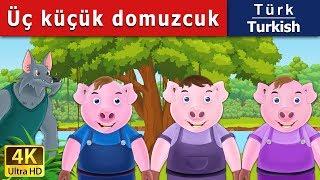 Üç küçük Domuz - Masal - çoçuk masalları dinle - 4K UHD - Türkçe peri masallar