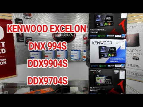 KENWOOD EXCELON DNX994S, DDX9904S, DDX9704S