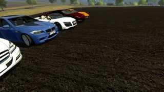 FARMING SIMULATOR 2013 NEW TEST MODS 50 AUTO DA STRADA by fmarco95