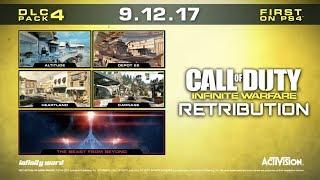 "DLC MAP PACK 4 ""RETRIBUTION""  || Call of Duty: Infinite Warfare || NEW DLC INFO +  PHOTOS"