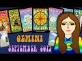 GEMINI  SEPTEMBER 2017 A New Path is Opening! -Tarot psychic reading forecast predictions Equinox