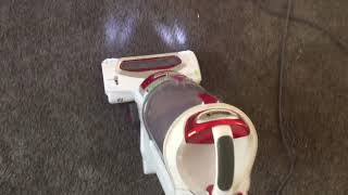 Shark Vacuuming| Heavy soiled carpet| Dirty carpet| prochem legend|