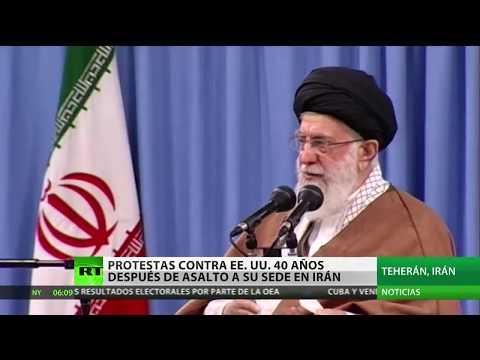 irán:-protestas-contra-ee.uu.-40-años-después-del-asalto-a-su-embajada-en-teherán