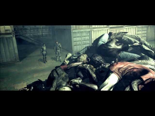 Смотреть прохождение игры [Coop] Resident Evil 5 - Серия 18: Битва с Экселлой..