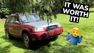 homepage tile video photo for Already flipped the lifted forester…