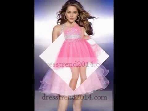 short-pink-prom-dresses-2014