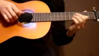 Guitar lesson Yiruma River flows in you Sungha Jung part 1