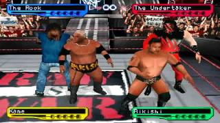WWF SmackDown! 2: Know Your Role PS1 1080P HD Playthrough - SEASON MODE PT. 1