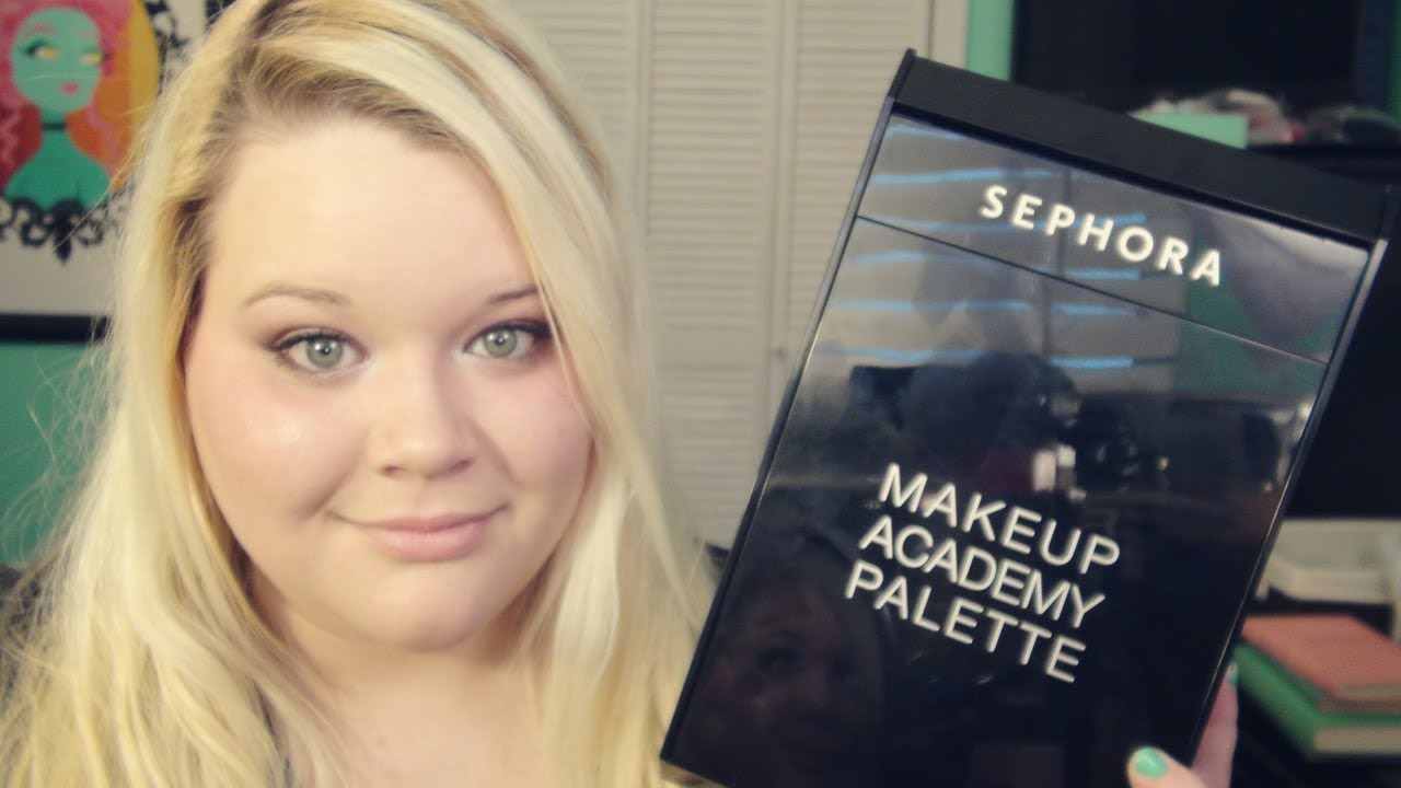 Sephora Makeup Academy Palette Review - YouTube