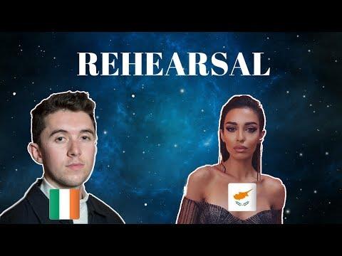 Eurovision 2018 - Ireland & Cyprus (Press Center)