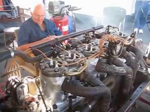 КАКОЙ ЖЕ У НЕГО ЗВУК ! ЗАПУСТИЛИ 100 летний двигатель  , после реставрации / мощный движок