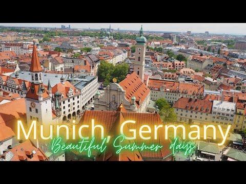 9 Things to do in Munich, Germany | Lovely summer weekend 2019 (DJI Mavic)