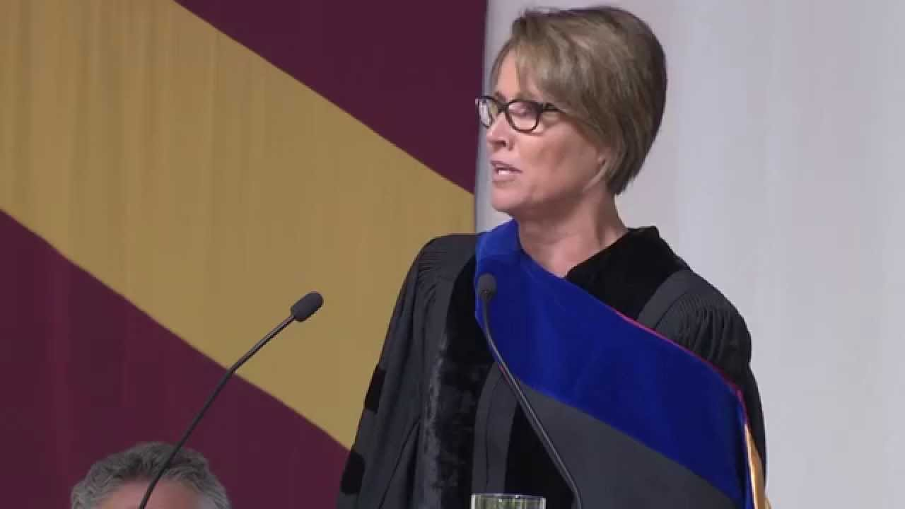 Mary Carillo delivers Elon University's Commencement Address ...