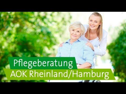 Pflegebedürftig? Alle Service- und Beratungsangebote der AOK Rheinland/Hamburg im Überblick