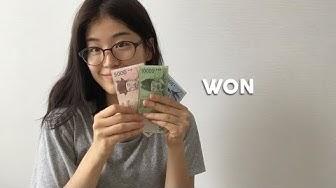 """Koreanischer """"Won""""(원) einfach erklärt 💰"""