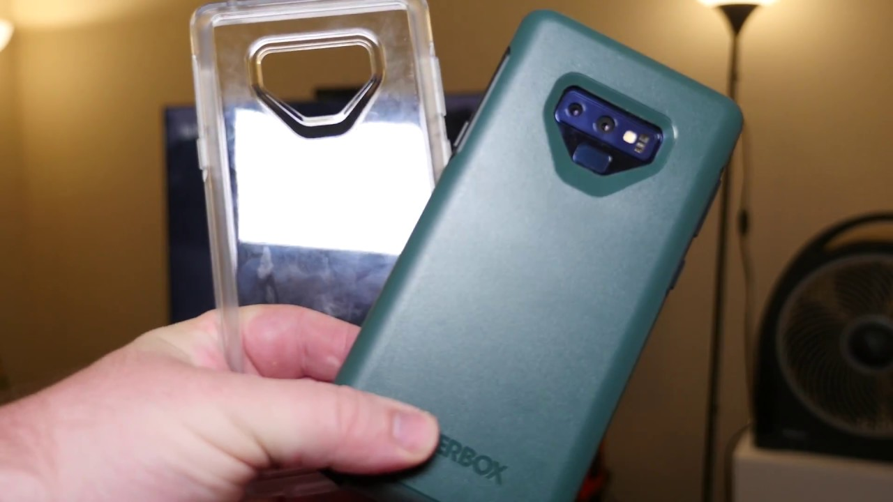 new concept 76e42 27c23 Note 9 Otterbox Symmetry Case REVIEW