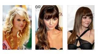 Frizure za okruglo lice duga kosa