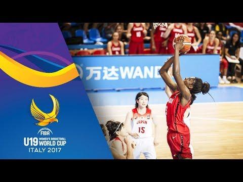 Japan v Canada - Full Game - 3rd Place - FIBA U19 Women's Basketball World Cup 2017