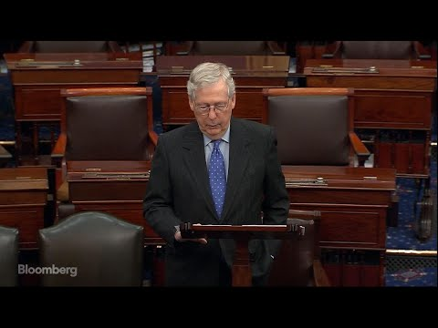 Sen. McConnell: Democrats Need to Take 'Yes for an Answer' Mar.24 -- Senate Majority Leader Mitch McConnell opened Wednesday's session calling on Democrats to end their negotiations and vote for a nearly $2 trillion ..., From YouTubeVideos