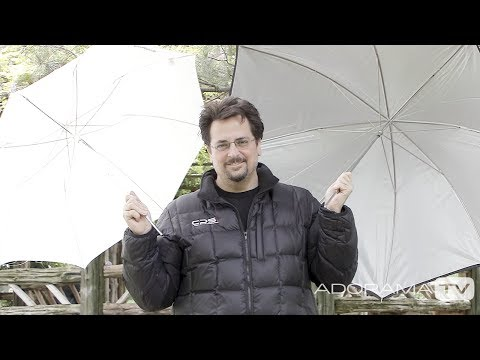 Shoot Through and Reflective Umbrellas: Two Minute Tips with David Bergman