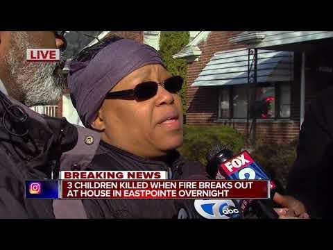 Three children killed in Eastpointe house fire